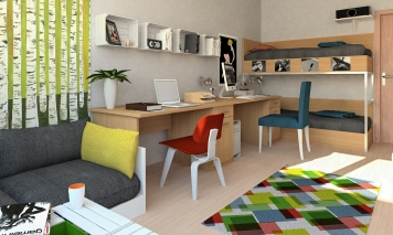 dormitory interior 1