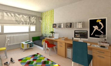 dormitory interior 2