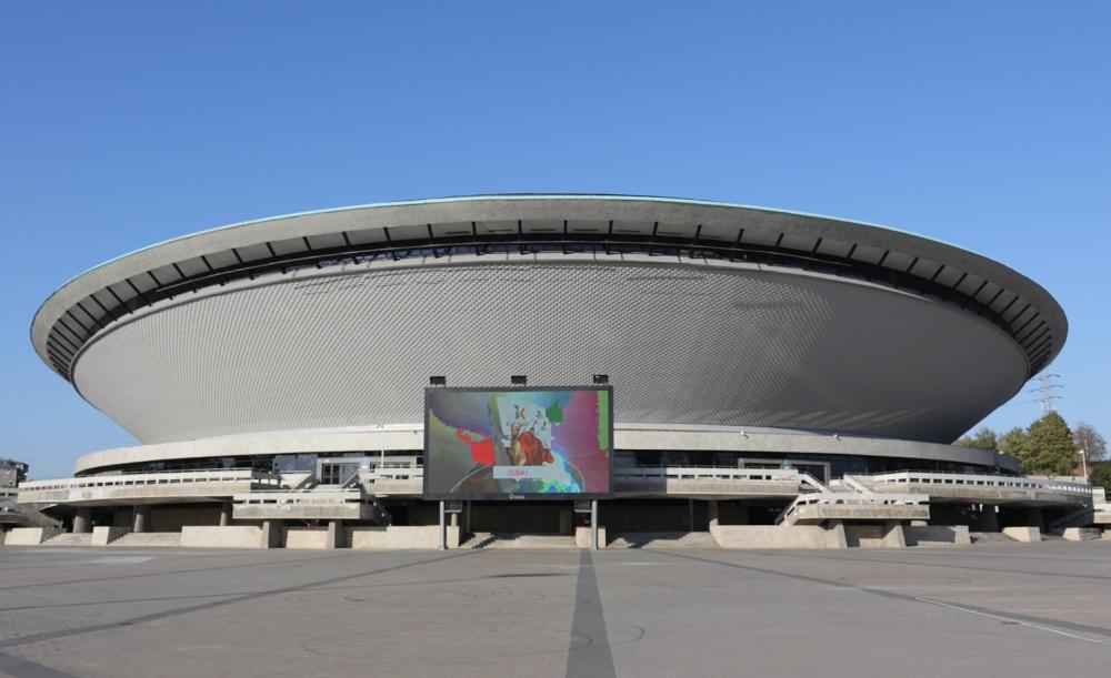 Katowice_Spodek-_Nowa_elewacja