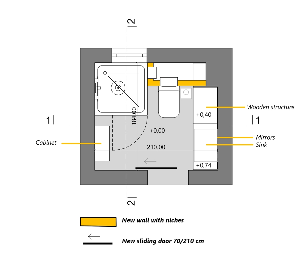 A.01.1 0. Ground Floor _ Layout